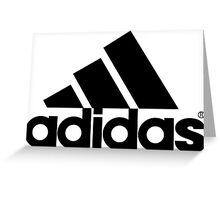 Adidas Greeting Card