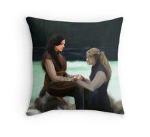 Regina&Emma FTL | Swan Queen Throw Pillow