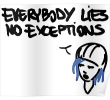 Chloe's Decal - Everybody Lies Poster
