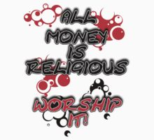 MONEY WORSHIPING by John Michael Wood