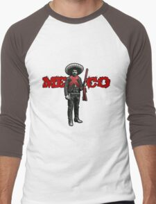 México Men's Baseball ¾ T-Shirt