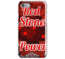 RedStone Power iPhone Case/Skin