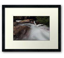 River Toce V Framed Print