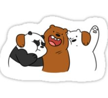 Three Bare Bears Sticker