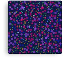 Dots for You Canvas Print