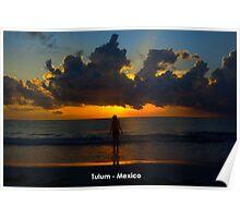 Tulum Sunrise Poster