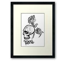 My Chemical Romance, ROSES'N'SKULL Framed Print