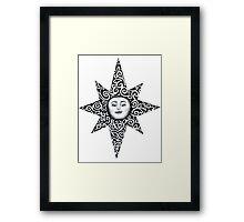 Turn To The Sun Framed Print