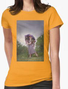 Perennial Parasol Womens Fitted T-Shirt
