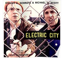 Electric City Album Artwork Poster