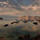 Sleeping boats by Aleksandra Misic