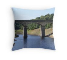 under the arches - Leighton Reservoir North Yorkshire Throw Pillow