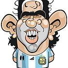 Carlos Tevez by Chris Sommerville