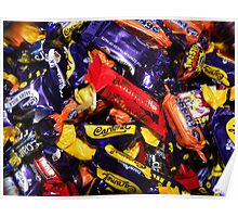 Chocolates (cadburys) .... yummy Poster
