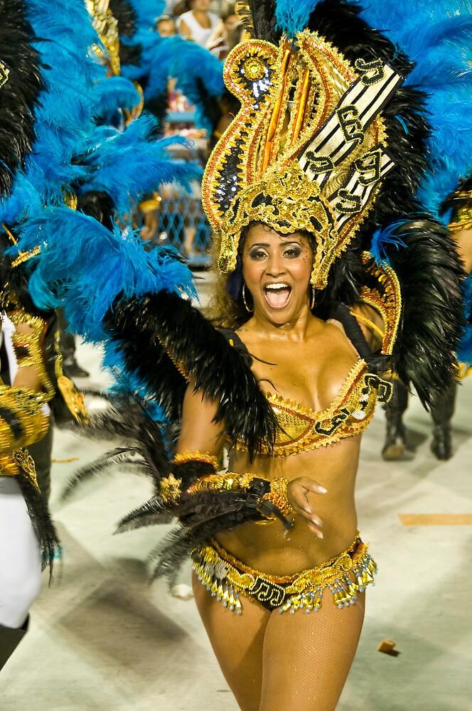 Carnival in Rio II by Quasebart