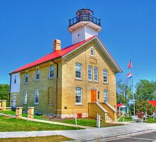 Port Washington Lighthouse by ECH52