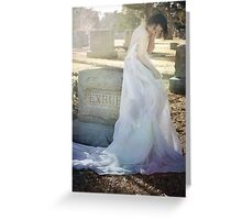 When Spirits Weep Greeting Card