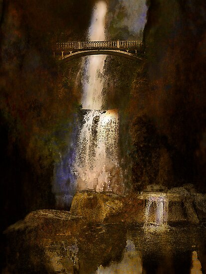 Multnoma falls - Oregon by Jeff Burgess