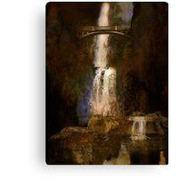 Multnoma falls - Oregon Canvas Print