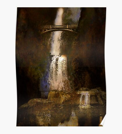 Multnoma falls - Oregon Poster