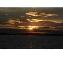 Sunset Calendar 11 Photographic Print