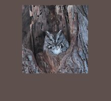 Little Screech Owl Grey Phase Unisex T-Shirt