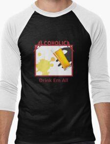 Alcoholica Men's Baseball ¾ T-Shirt