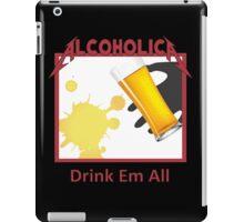 Alcoholica iPad Case/Skin
