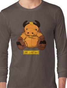 GNU...is NOT the same as UNIX! Long Sleeve T-Shirt