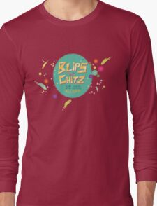 Blips and Chitz - Rick and Morty Long Sleeve T-Shirt