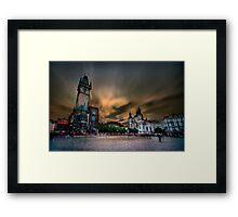 Old Town Square, Prague Framed Print