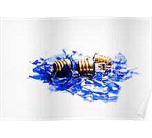 Blue Blubs - Smashed Poster