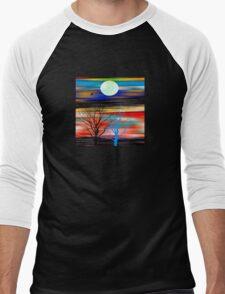 The Lone Bird Men's Baseball ¾ T-Shirt