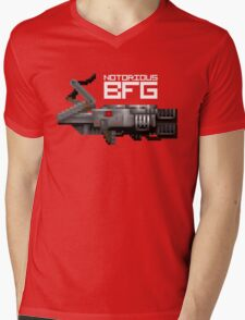 Notorious BFG. Mens V-Neck T-Shirt