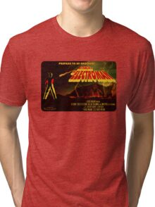 Attack of the Electroman - Cover Art Tri-blend T-Shirt