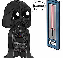 Darth Vader Shopping Chibi  by JustGetUpTees