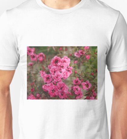 Pink Flower Power Unisex T-Shirt
