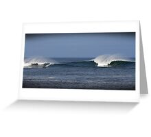 Surfing in Ireland, County Donegal Greeting Card