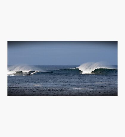 Surfing in Ireland, County Donegal Photographic Print