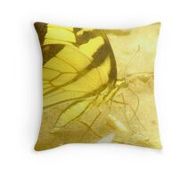 foggy tiger Throw Pillow