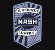 Authorized Nash Service Shirt One Piece - Long Sleeve