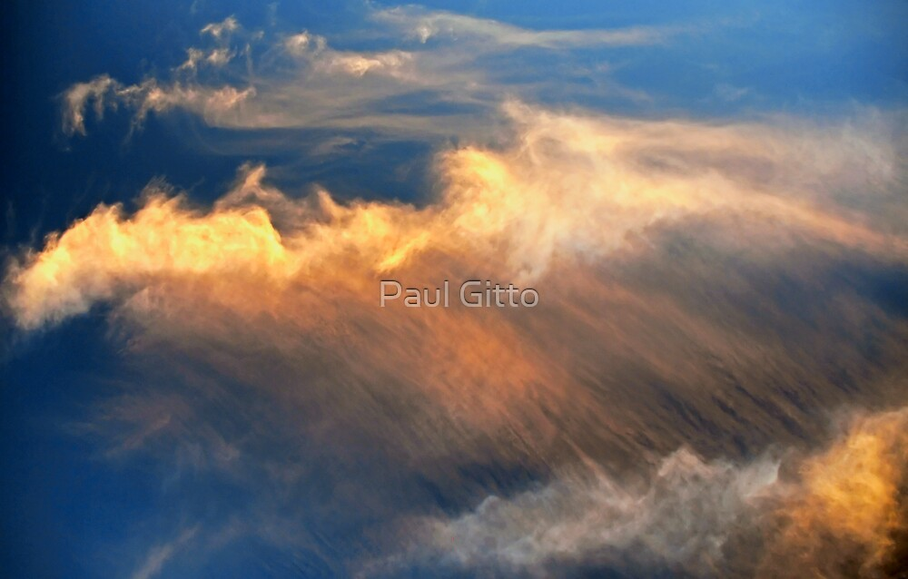 Cloudscape, Sunset Clouds by Paul Gitto
