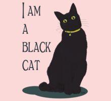 I am a black cat Kids Tee