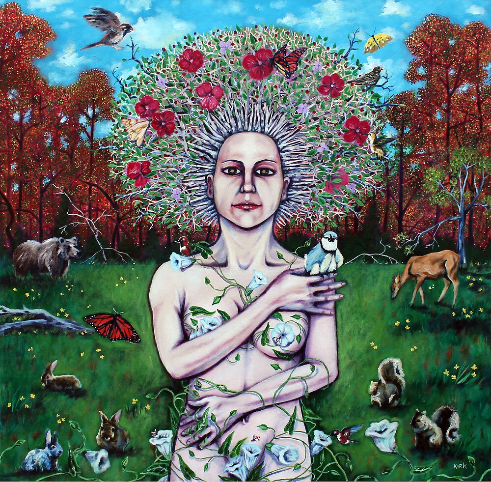 'A Portrait of Mother Nature' by Jerry Kirk