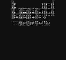 Periodic Table of Elements (White) Unisex T-Shirt