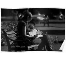 Reading in the Park Poster