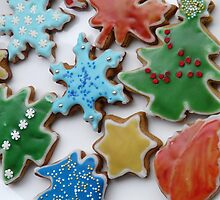 Christmas cookies by Kiriel