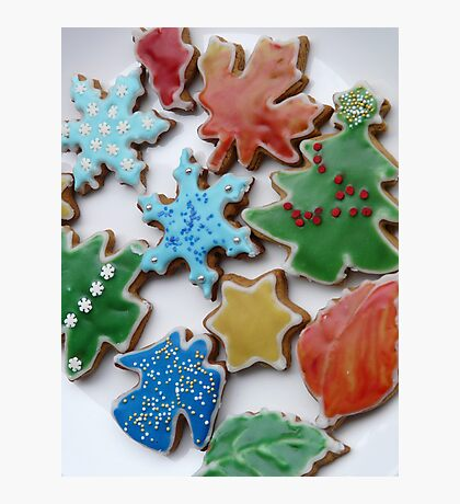 Christmas cookies Photographic Print