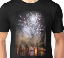 Fireworks on the Lagoon III Unisex T-Shirt