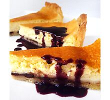 The ultimate Cheesecake Photographic Print